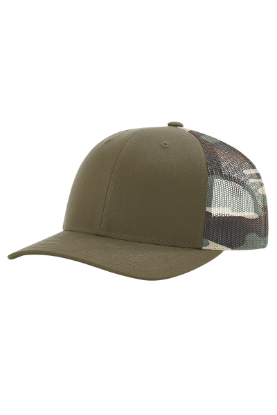 Richardson Printed Mesh Trucker