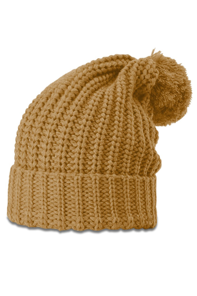 Richardson Chunky Cable Beanie W/Cuff and Pom