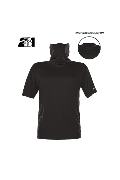 Badger Sportswear Performance Tee with Mask