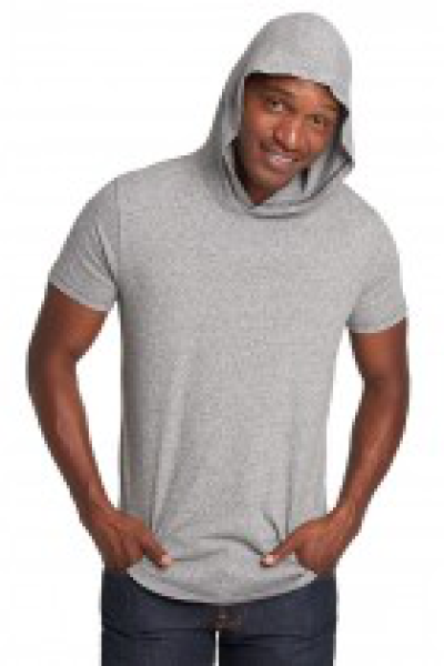 Next Level Apparel Mock Twist Short Sleeve Hoody