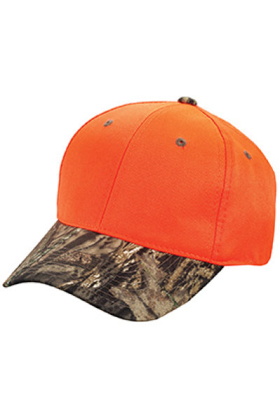 Outdoor Cap Blaze Crown with Camo Visor