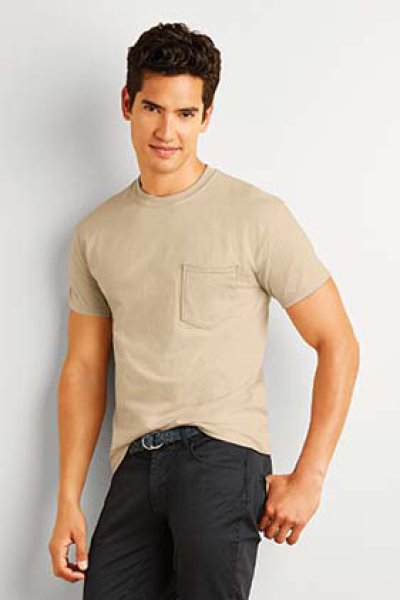 Gildan Ultra Cotton Adult T-Shirt with Pocket