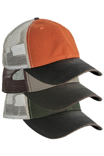 Dri Duck Field Cap Mesh Pack