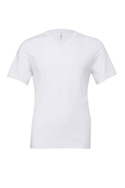 BELLA + CANVAS Unisex Jersey Short Sleeve V-Neck Tee