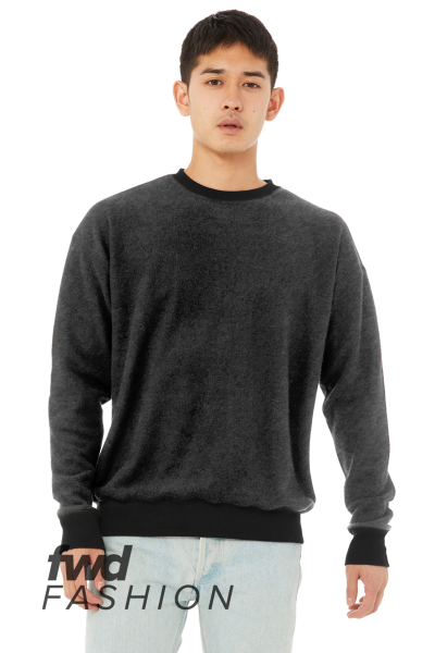 3345BC BELLA+CANVAS Unisex Sueded Drop Shoulder Sweatshirt