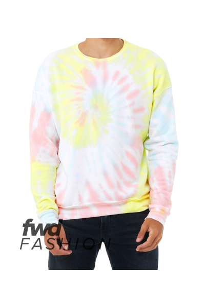 BELLA+CANVAS FWD Fashion Unisex Tie-Dye Pullover
