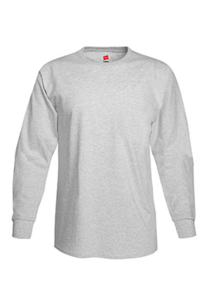 Hanes® TAGLESS® 6.1 Long Sleeve Tee