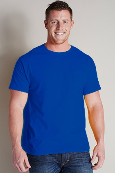 Hanes® TAGLESS® 6.1 Tee with Pocket
