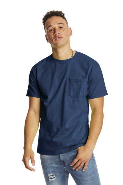 Hanes® Authentic-T T-shirt with Pocket