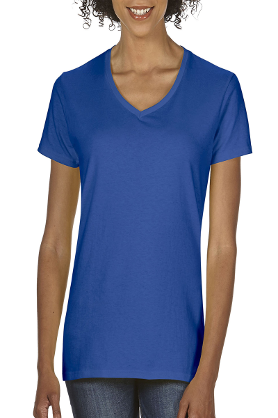 Gildan Heavy Cotton Ladies V-Neck T-Shirt