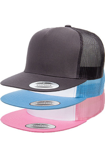 Yupoong Five-panel Classic Mesh Trucker