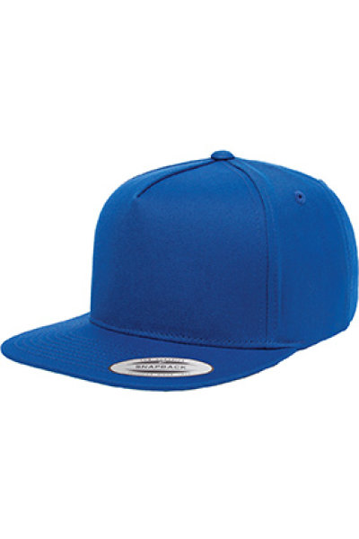 Yupoong® Five-panel Flat Bill