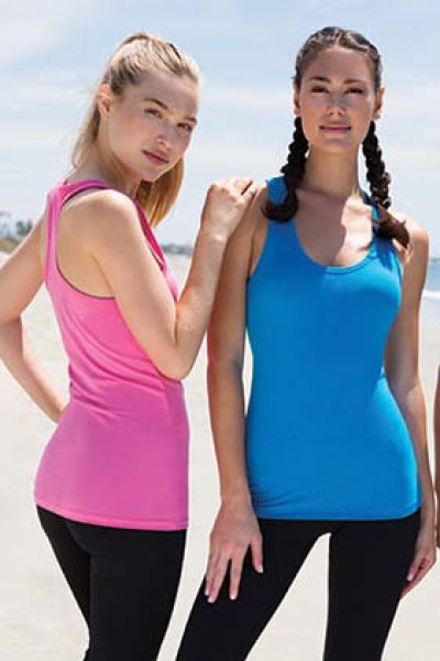 Next Level Apparel Spandex Jersey Racerback Tank