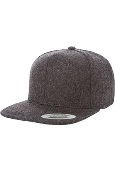 Yupoong® Melton Wool Snapback