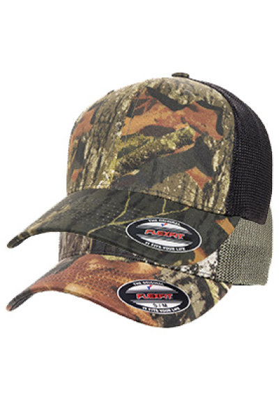 FlexFit Mossy Oak Trucker