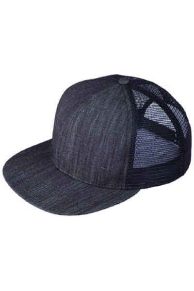 Mega Cap Six-panel Flat Bill Trucker