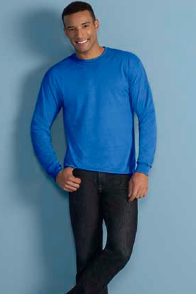 Gildan DryBlend 5.5 oz.Adult Long Sleeve T-Shirt