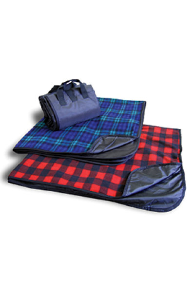 Alpine Fleece Plaid Blanket