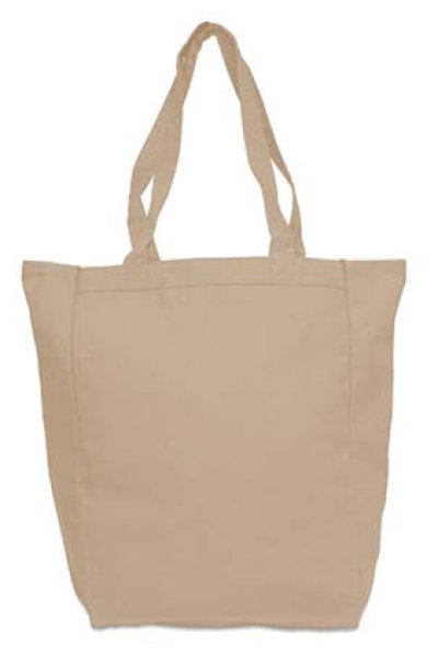 "Liberty Bags ""Susan"" Heavyweight Canvas Tote with Gussets"