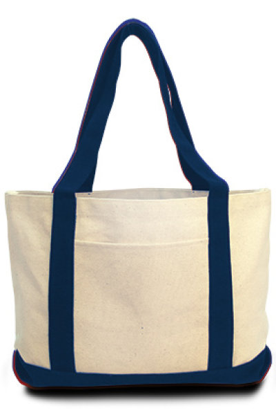 "Liberty Bags ""Leeward"" Canvas Tote"