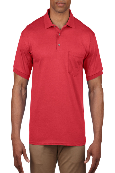 Gildan DryBlend Adult Jersey Sport Shirt with Pocket