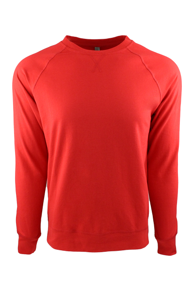Next Level Apparel Unisex French Terry Long Sleeve Crew