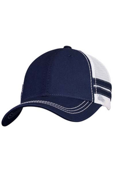 Sportsman Trucker with Stripes