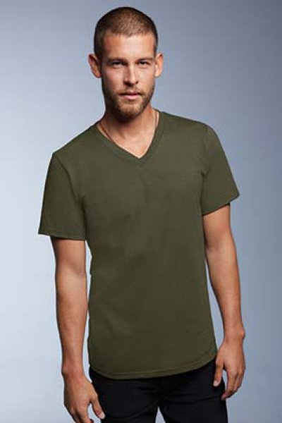 ANVIL® Adult Lightweight V-Neck Tee