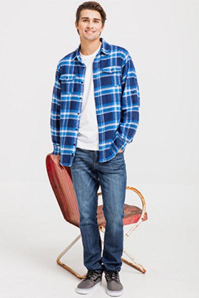Burnside® Woven Plaid Flannel
