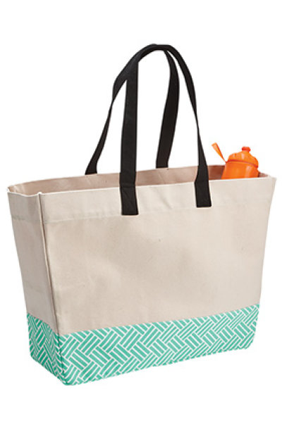 Brookson Bay Bottom Pattern Beach Tote