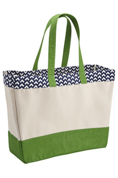 Brookson Bay Top Pattern Beach Tote