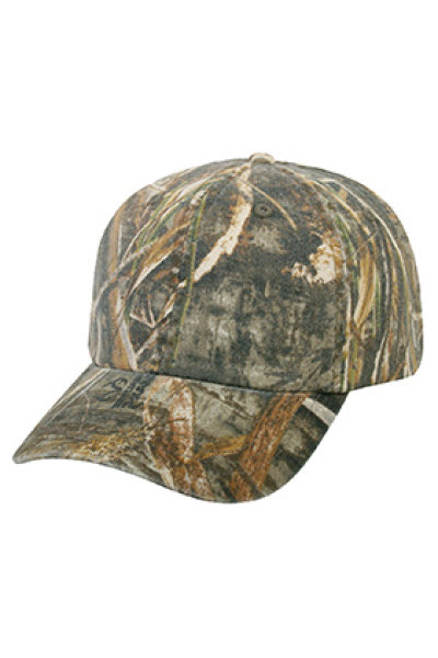 Outdoor Cap Garment-washed Camo