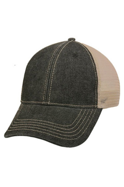 Outdoor Cap Heavy Washed Denim
