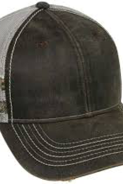 Outdoor Cap Trucker with Camo Stripes