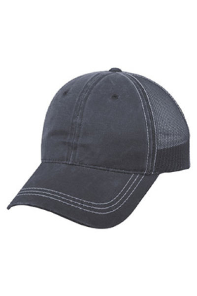Outdoor Cap Weathered Cotton Mesh Back
