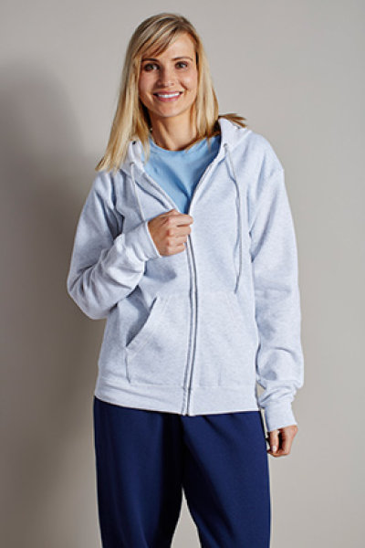 Hanes® EcoSmart® Full Zip Hooded Sweatshirt