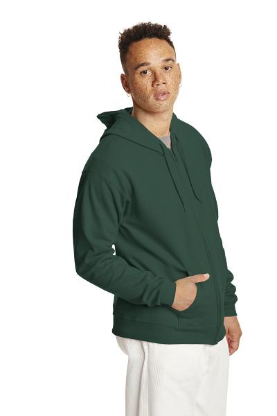 Hanes® EcoSmart® Full Zip Hooded Sweatshirt