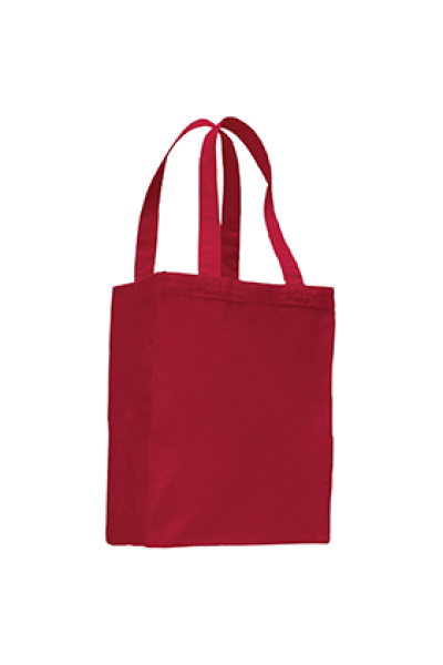 Q-TEES Canvas Gusset Shopping Tote