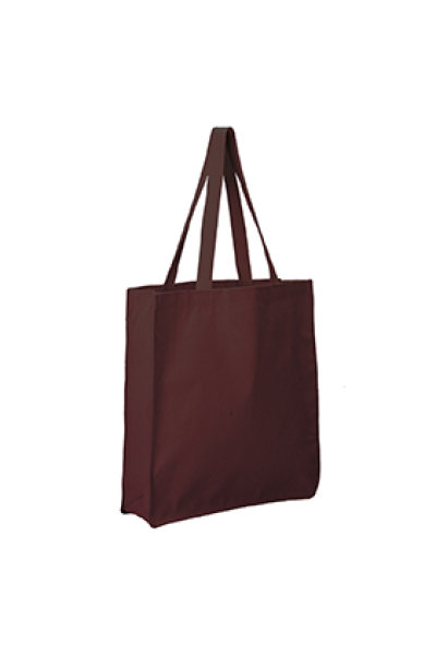 Q-TEES Canvas Gusset Shopper