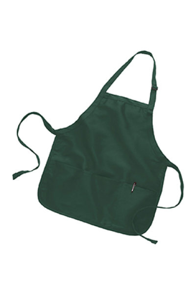 Q-TEES Full Length Apron with Pouch