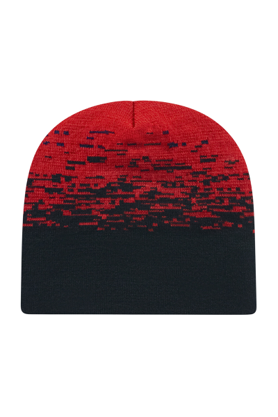 Cap America USA Made Static Pattern Beanie