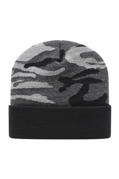 Cap America USA Made Urban Camo Knit Cap