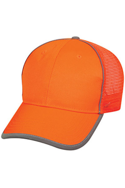 Outdoor Cap Safety Mesh Back