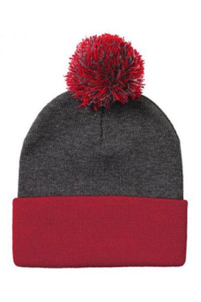 Sportsman Pom Pom Knit Hat