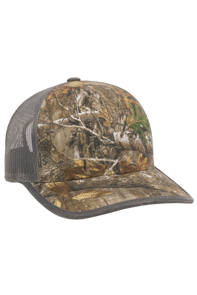 Outdoor Cap Camo Trucker
