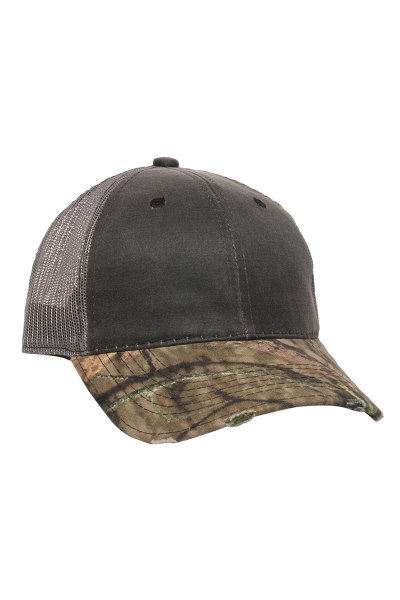 Outdoor Cap Weathered with Camo