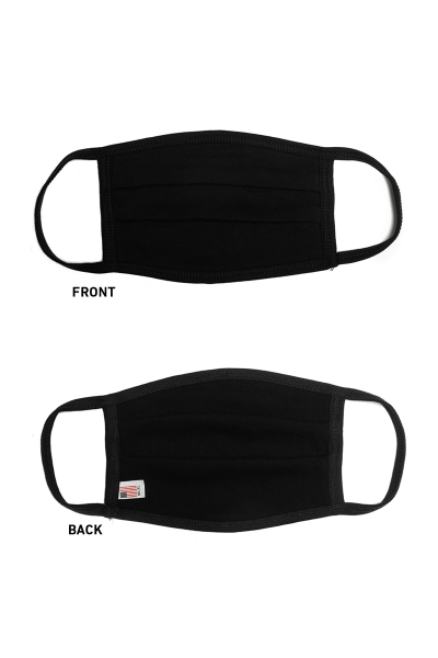 Maverick Solid Comfort Face Mask