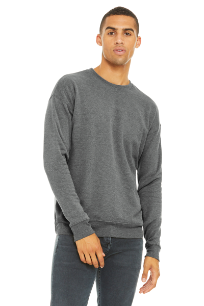 BELLA+CANVAS Unisex Drop Shoulder Sponge Fleece