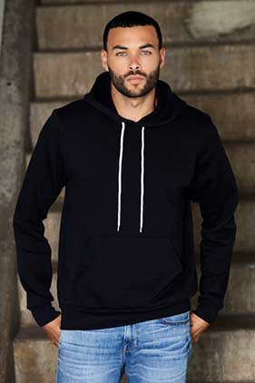 BELLA + CANVAS Unisex Poly-Cotton Fleece Pullover Hoodie