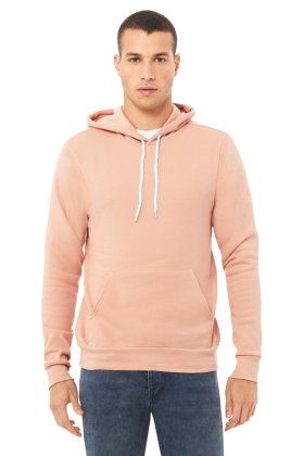 BELLA+CANVAS Unisex Sponge Fleece Pullover Hood